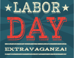 15 Labor Day - ONLINE Special