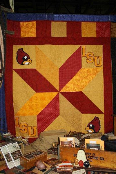 Iowa State Star Quilt Kit | The Little Red Hen - Quilt Shop : red hen quilt shop - Adamdwight.com