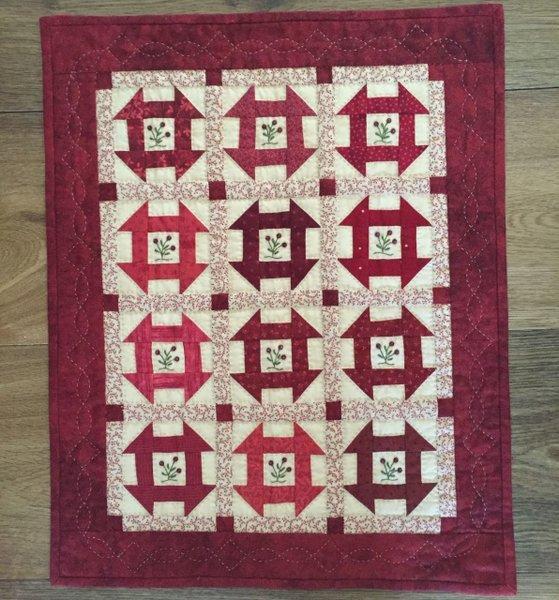 Little Red One Pattern #501 - Red Button Quilt Co. | The Little ... : red hen quilt shop - Adamdwight.com