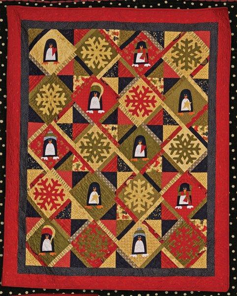 Penguin Fun Quilt Kit | The Little Red Hen - Quilt Shop : red hen quilt shop - Adamdwight.com