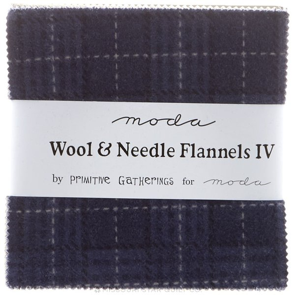 Wool Needle Iv Flannels Charm 1190ppf The Little Red Hen