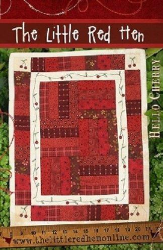 Hello Cherry Kit | The Little Red Hen - Quilt Shop : red hen quilt shop - Adamdwight.com