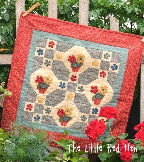 Flower Patch KIT | The Little Red Hen - Quilt Shop : red hen quilt shop - Adamdwight.com
