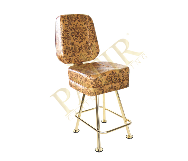 Leather And Brass Plated Chair Tan Take 1 Designs Mid