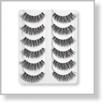 Black Demi Eyelashes Value Set